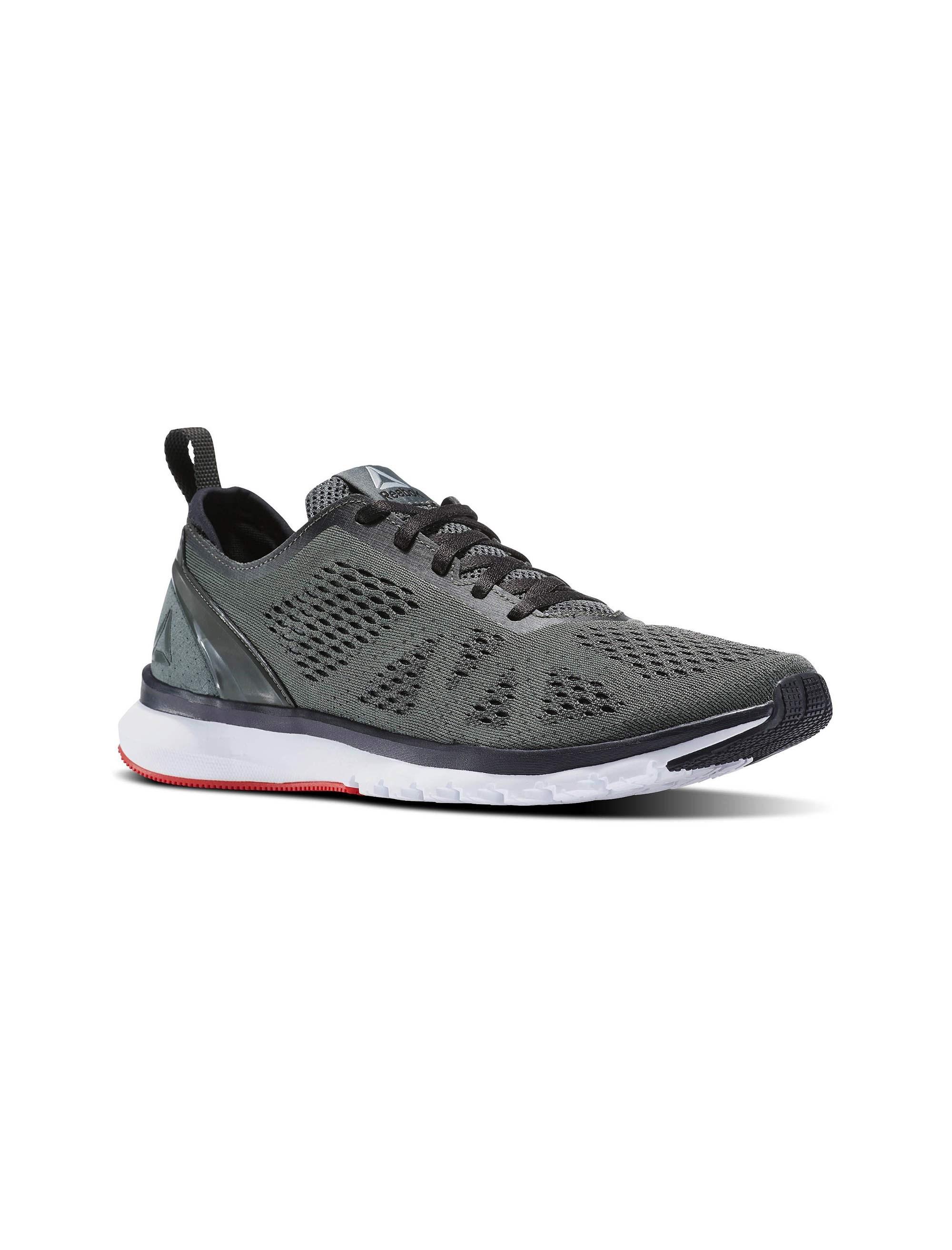 کفش دویدن بندی مردانه Smooth Clip Ultraknit - ریباک - طوسي - 4