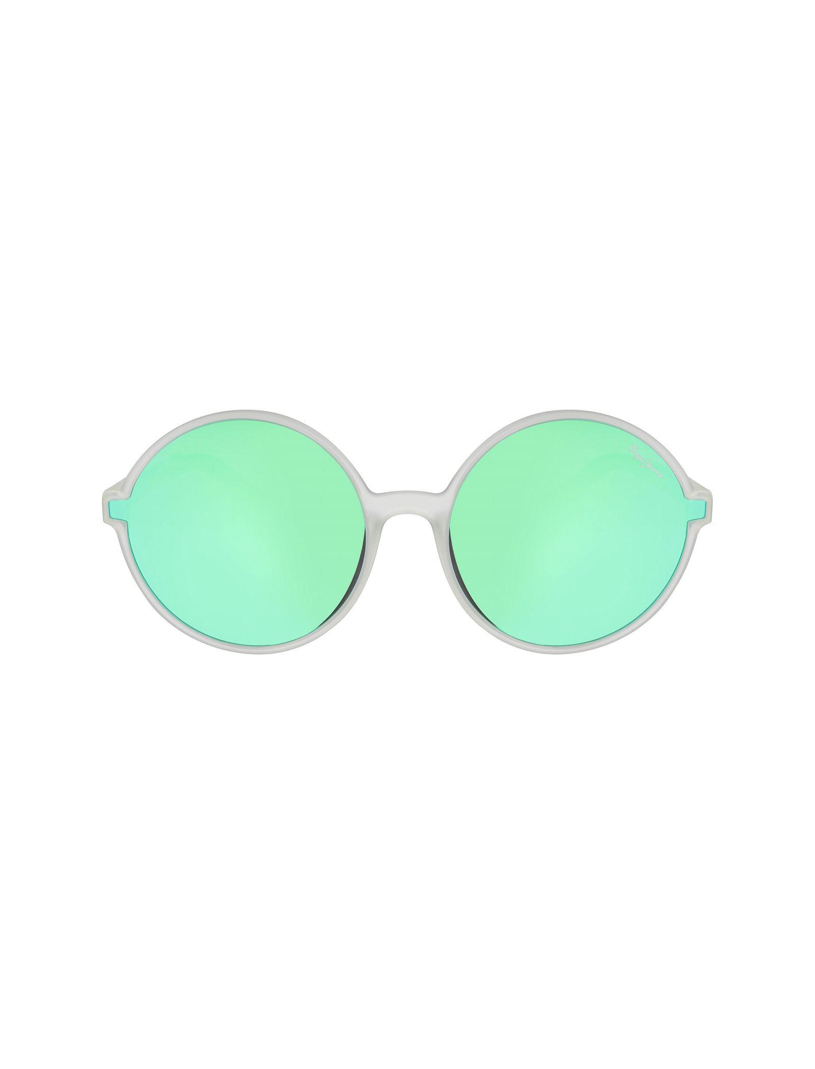 عینک آفتابی گرد زنانه - پپه جینز - شفاف - 1