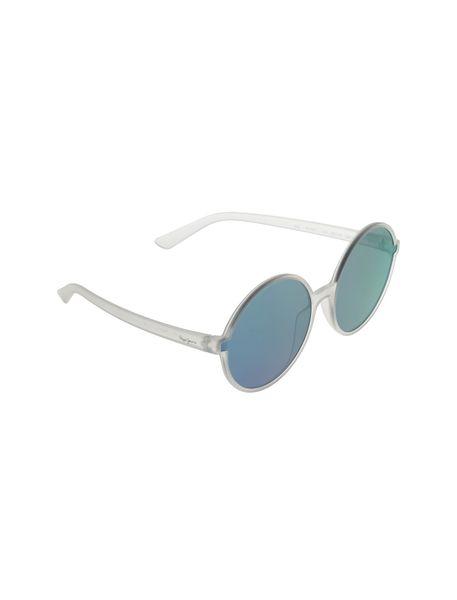 عینک آفتابی گرد زنانه - شفاف - 2