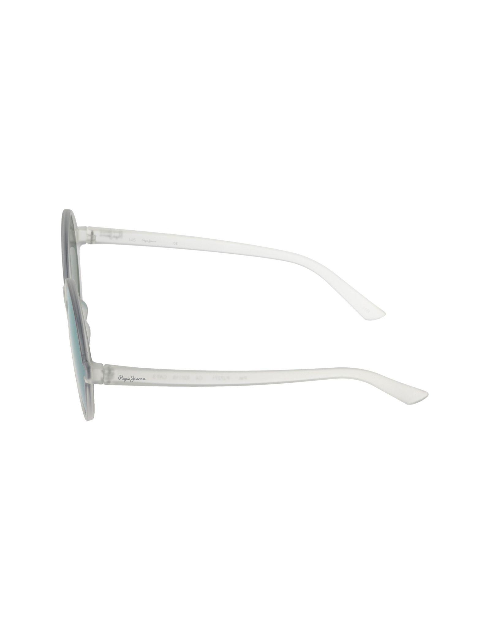 عینک آفتابی گرد زنانه - پپه جینز - شفاف - 3