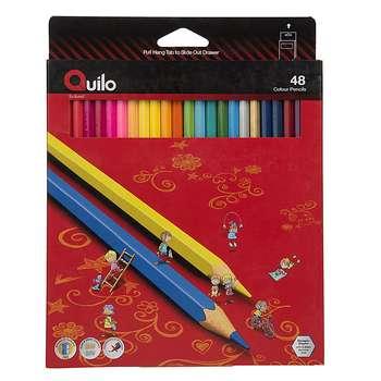 مداد رنگی 48 رنگ کوییلو کد 634014