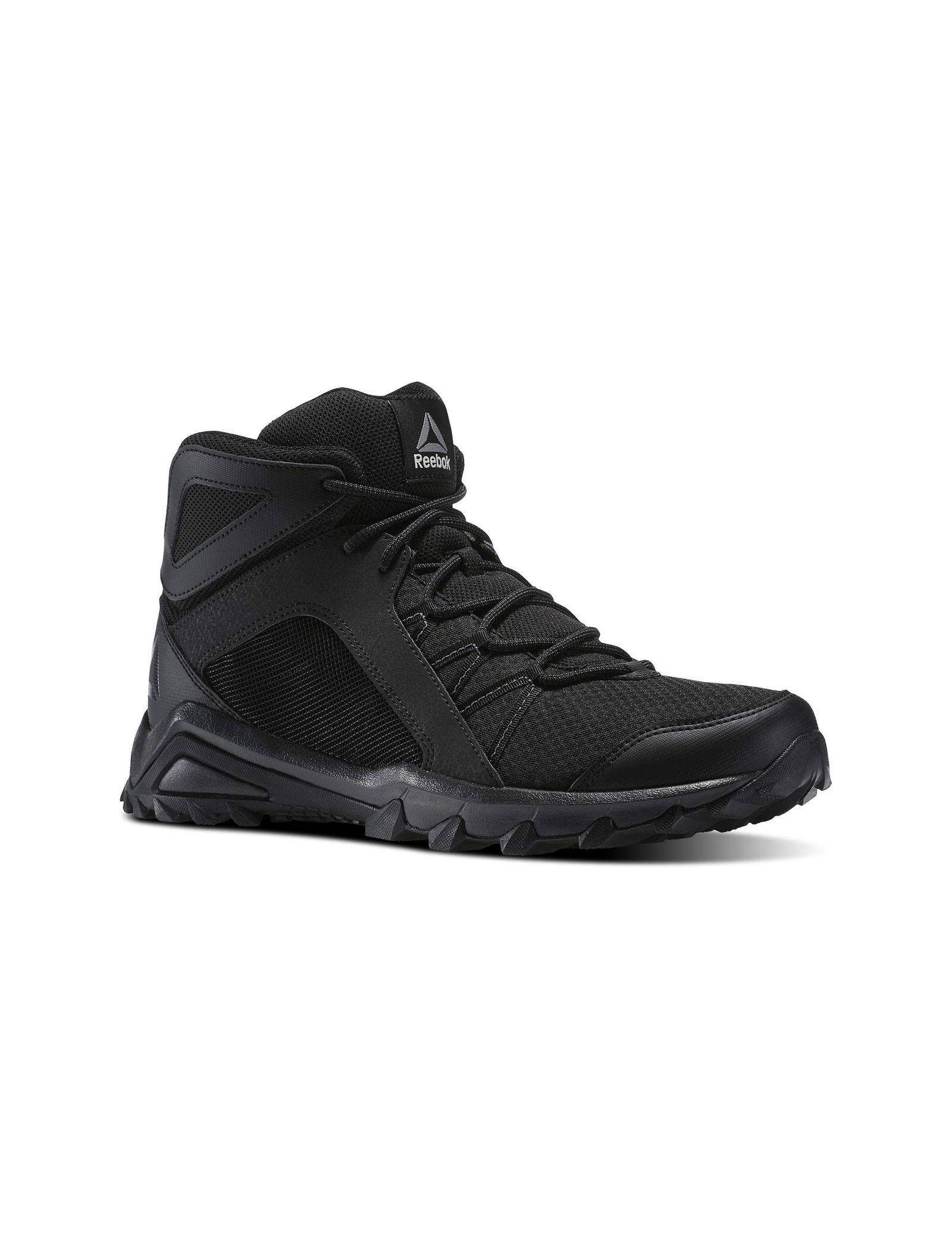 کفش طبیعت گردی بندی مردانه Trailgrip Mid 6-0 - ریباک - مشکي - 4
