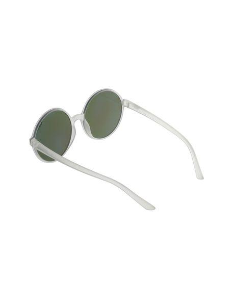 عینک آفتابی گرد زنانه - شفاف - 4