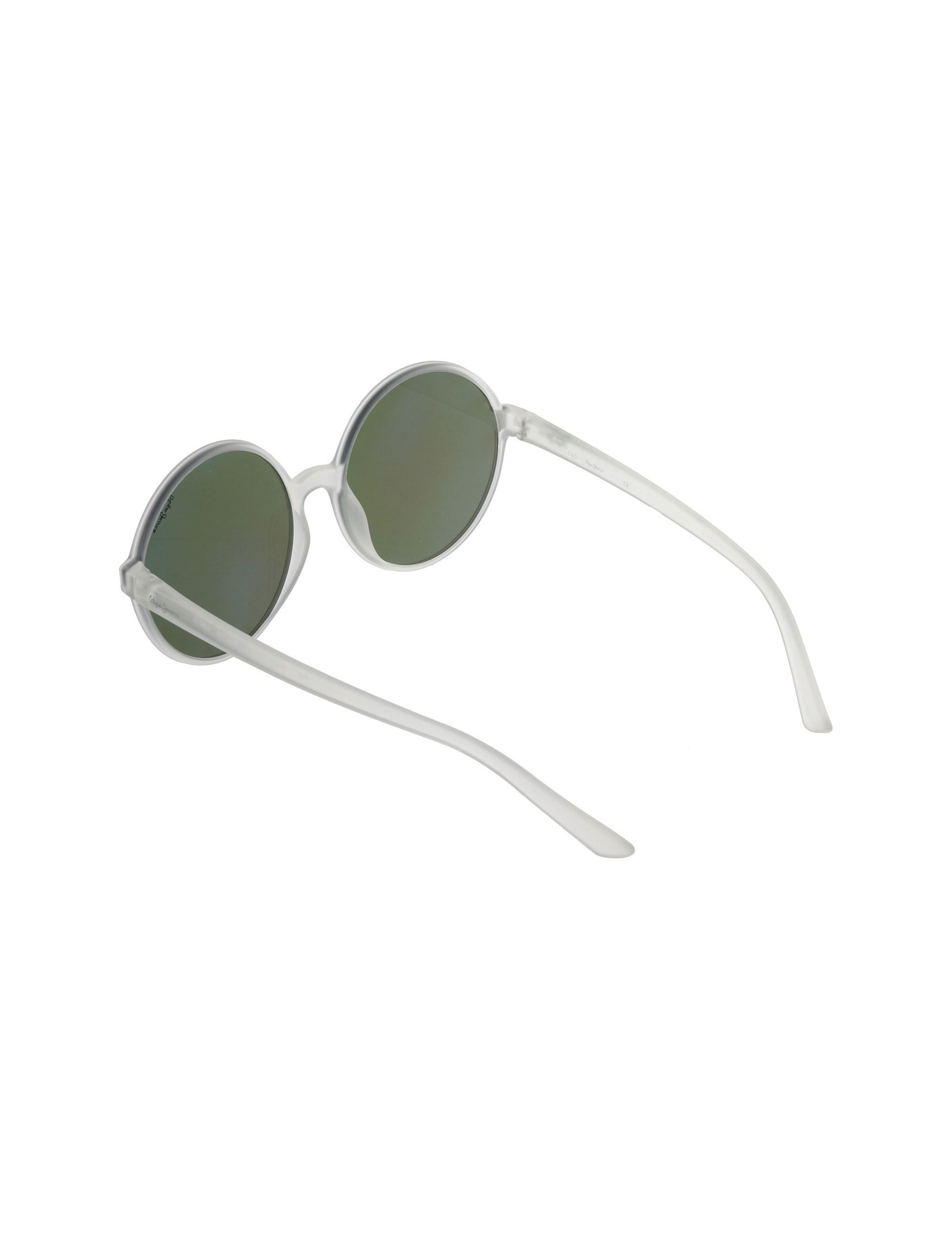 عینک آفتابی گرد زنانه - پپه جینز - شفاف - 4