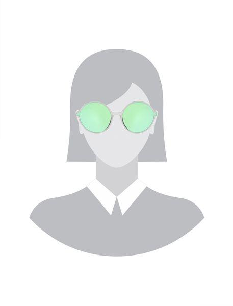 عینک آفتابی گرد زنانه - شفاف - 5