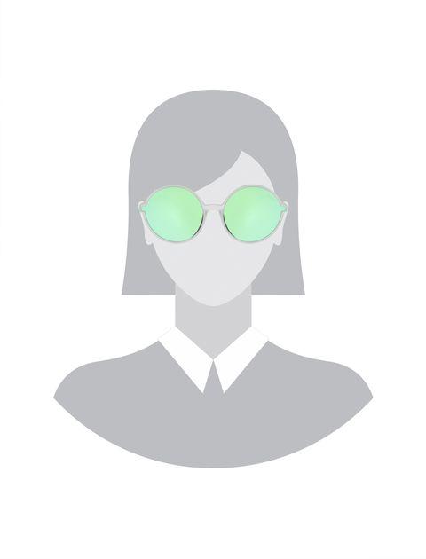 عینک آفتابی گرد زنانه - پپه جینز - شفاف - 5