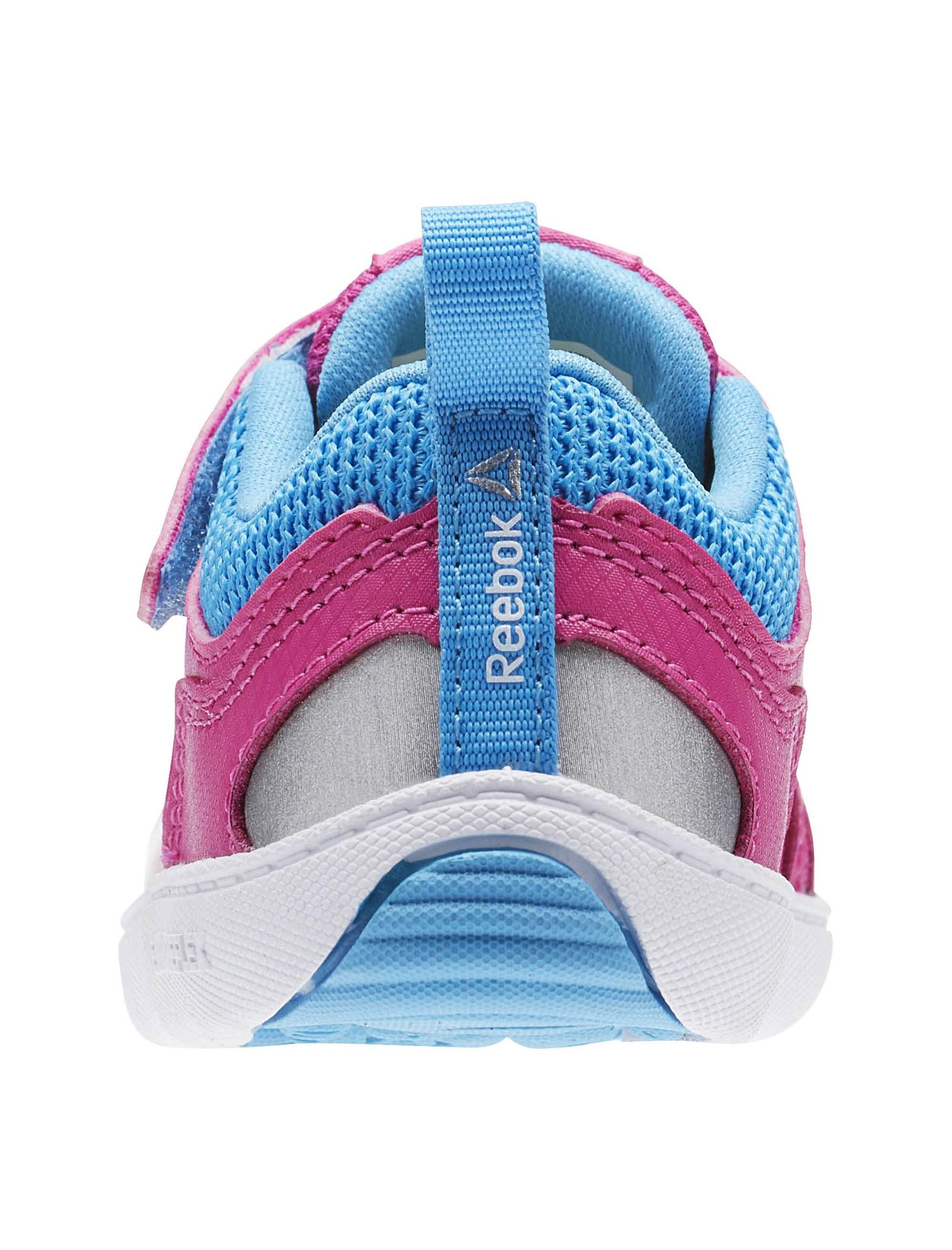 کفش دویدن چسبی نوزادی Ventureflex Stride 5-0 - ریباک - سرخابي - 6