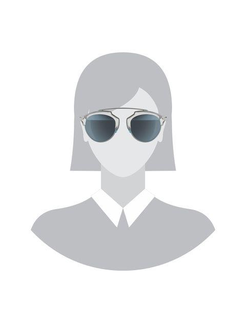 عینک آفتابی پنتوس زنانه - دیور - آبي روشن - 5