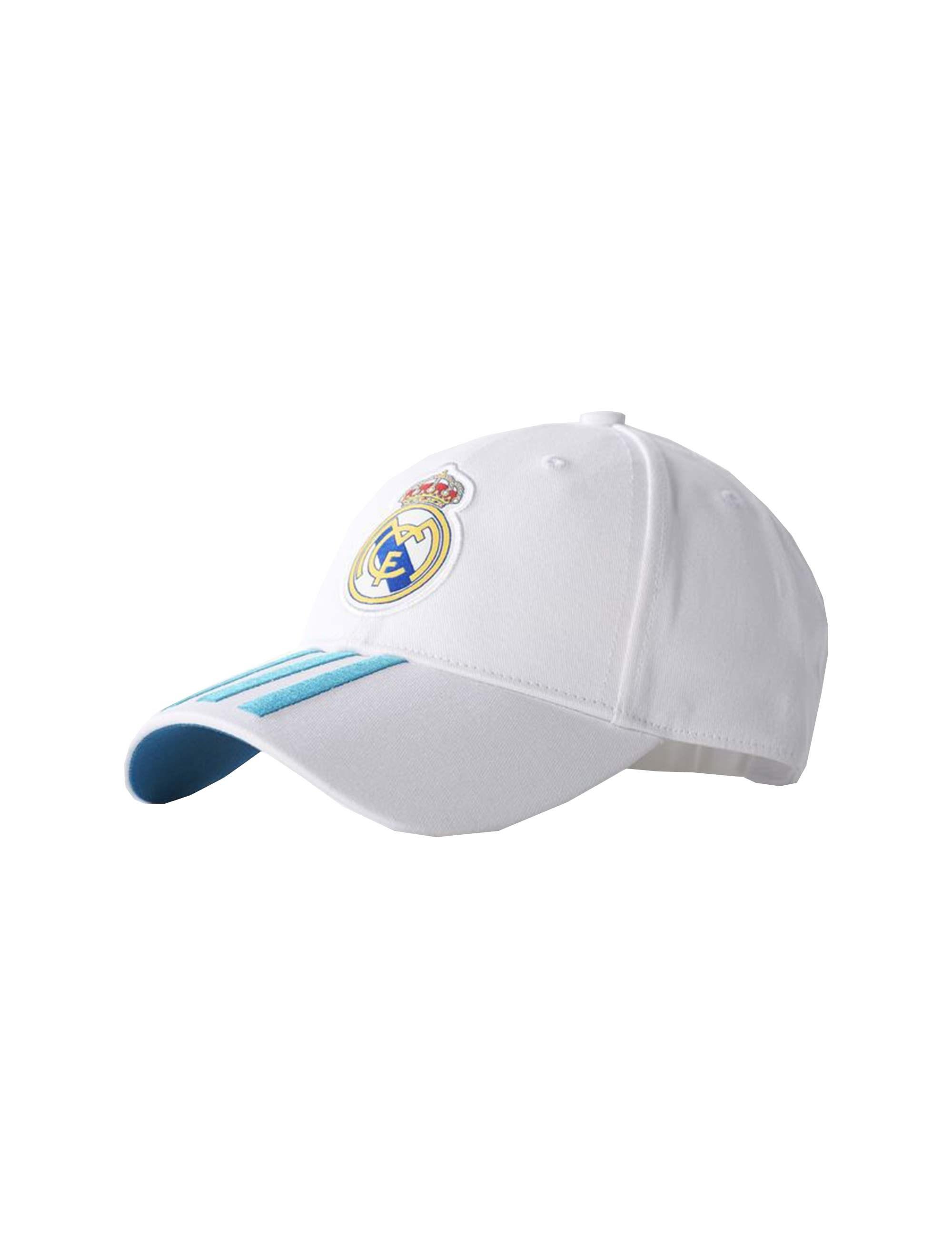 کپ نخی ساده بزرگسال Real Madrid 3-Stripes - آدیداس - سفيد - 1
