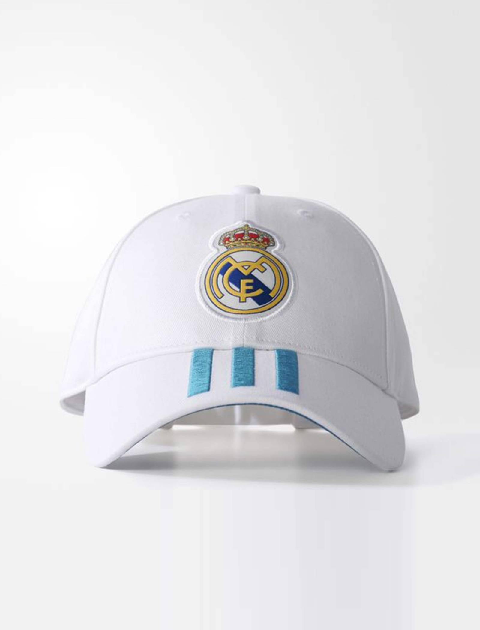 کپ نخی ساده بزرگسال Real Madrid 3-Stripes - آدیداس - سفيد - 2