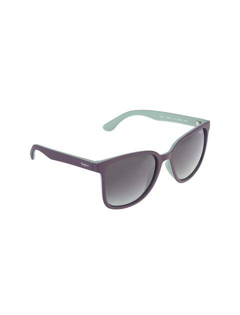 عینک آفتابی ویفرر زنانه - بادمجاني - 2