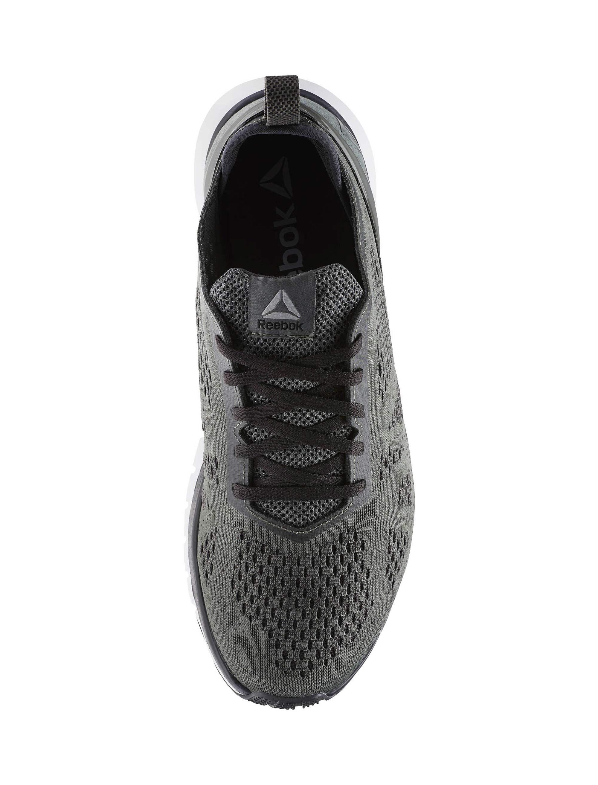 کفش دویدن بندی مردانه Smooth Clip Ultraknit - ریباک - طوسي - 5