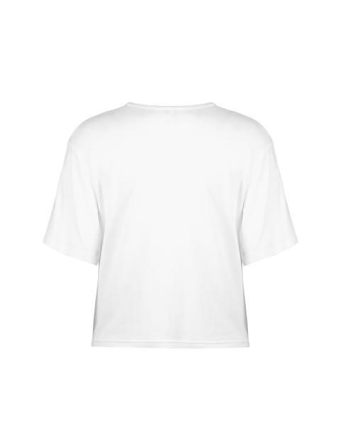 تی شرت ویسکوز آستین کوتاه دخترانه - سفيد - 2