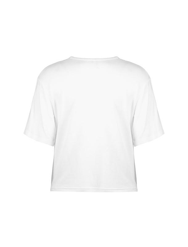 تی شرت ویسکوز آستین کوتاه دخترانه