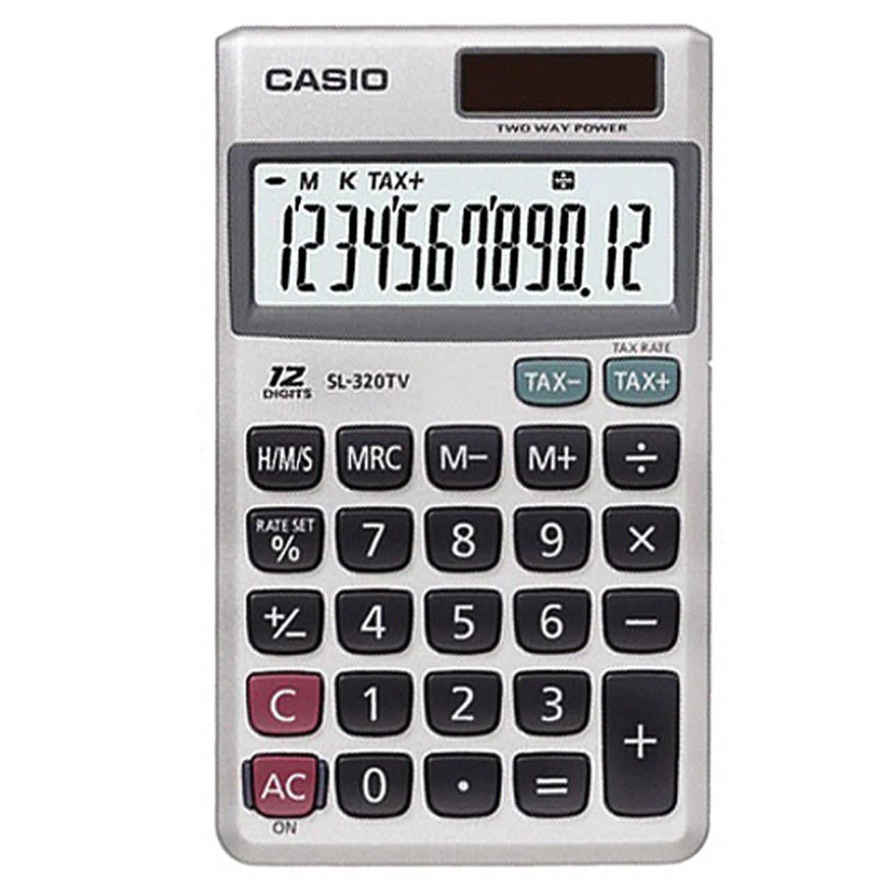 قیمت                      ماشین حساب کاسیو مدل SL-320TV-W