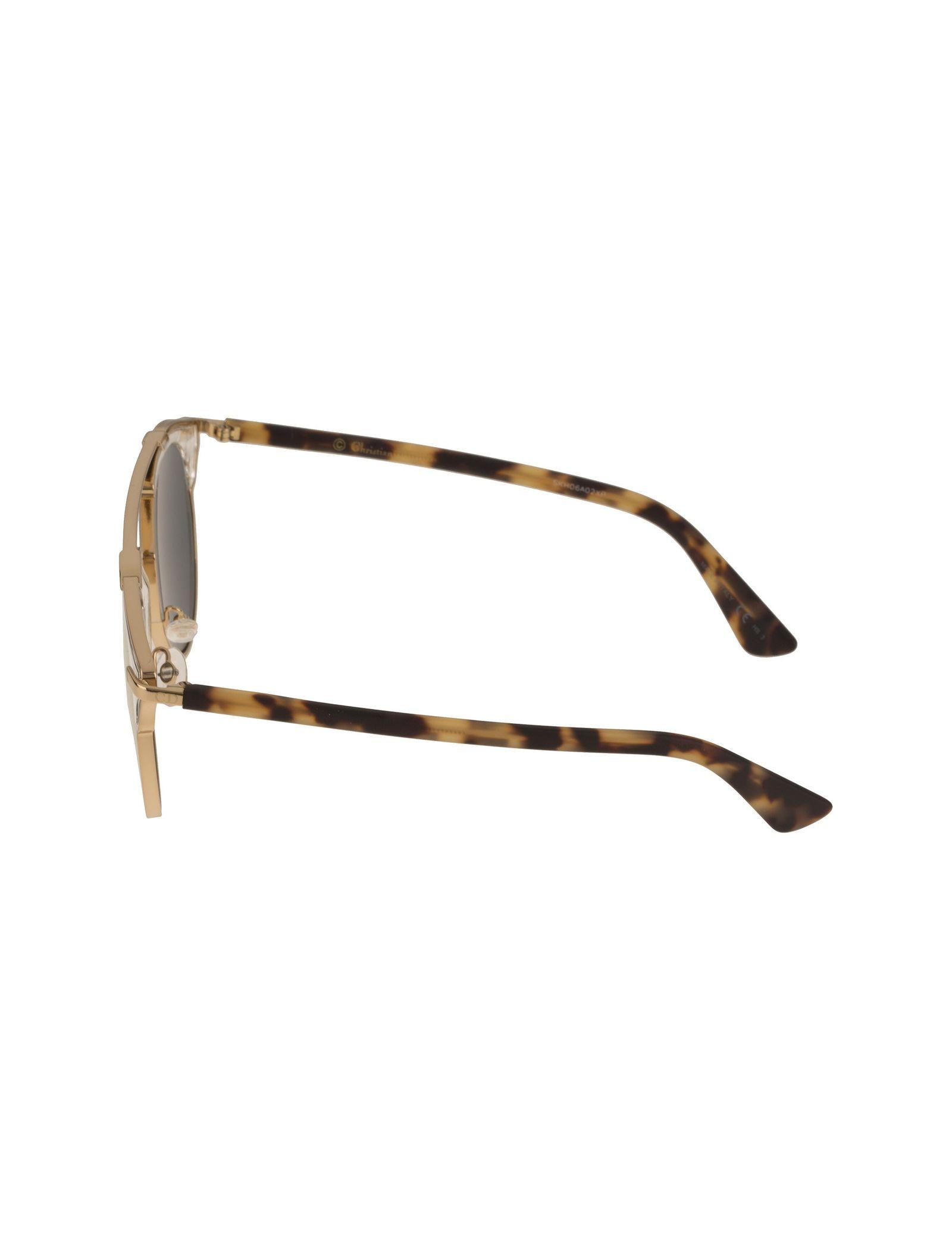عینک آفتابی پنتوس زنانه - دیور - طلايي  - 3