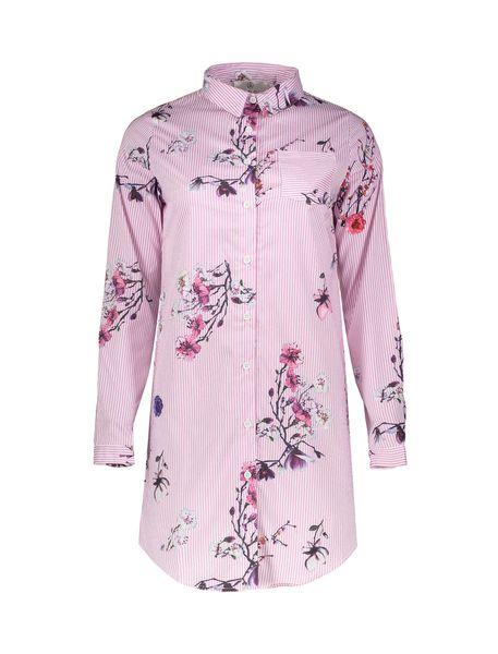 پیراهن کوتاه زنانه - صورتي - 1