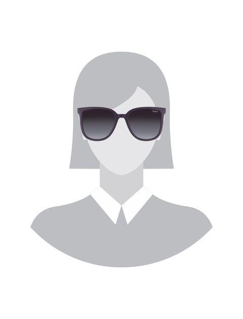 عینک آفتابی ویفرر زنانه - بادمجاني - 5