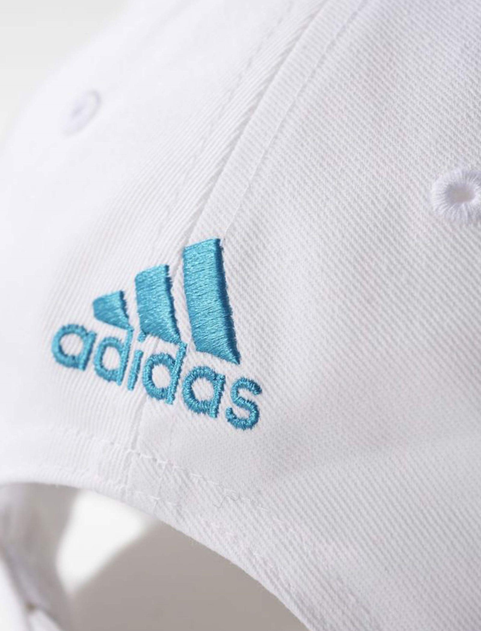 کپ نخی ساده بزرگسال Real Madrid 3-Stripes - آدیداس - سفيد - 7