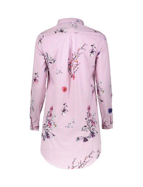 پیراهن کوتاه زنانه - صورتي - 2