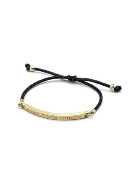 دستبند زنانه - مشکي  - 1
