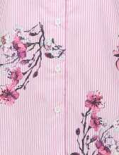 پیراهن کوتاه زنانه - صورتي - 4
