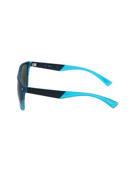 عینک آفتابی خلبانی مردانه - سرمه اي - 3