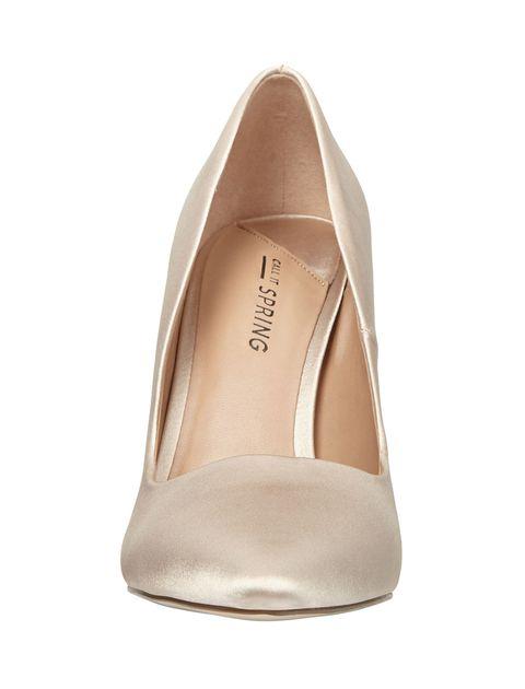 کفش پاشنه بلند زنانه GWYDDA - طلايي - 2