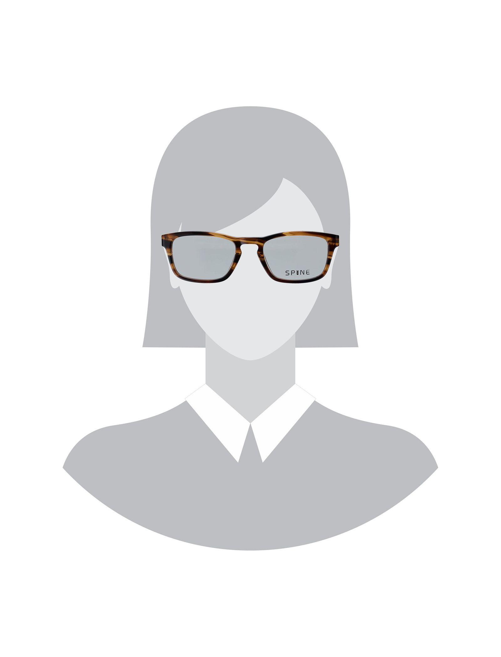 عینک طبی ویفرر زنانه - اسپاین - قهوه اي - 2
