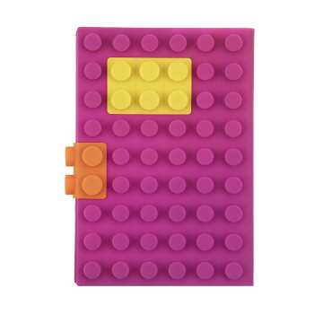 دفتر یادداشت مدل لگو سایز 10 × 15 سانتی متر