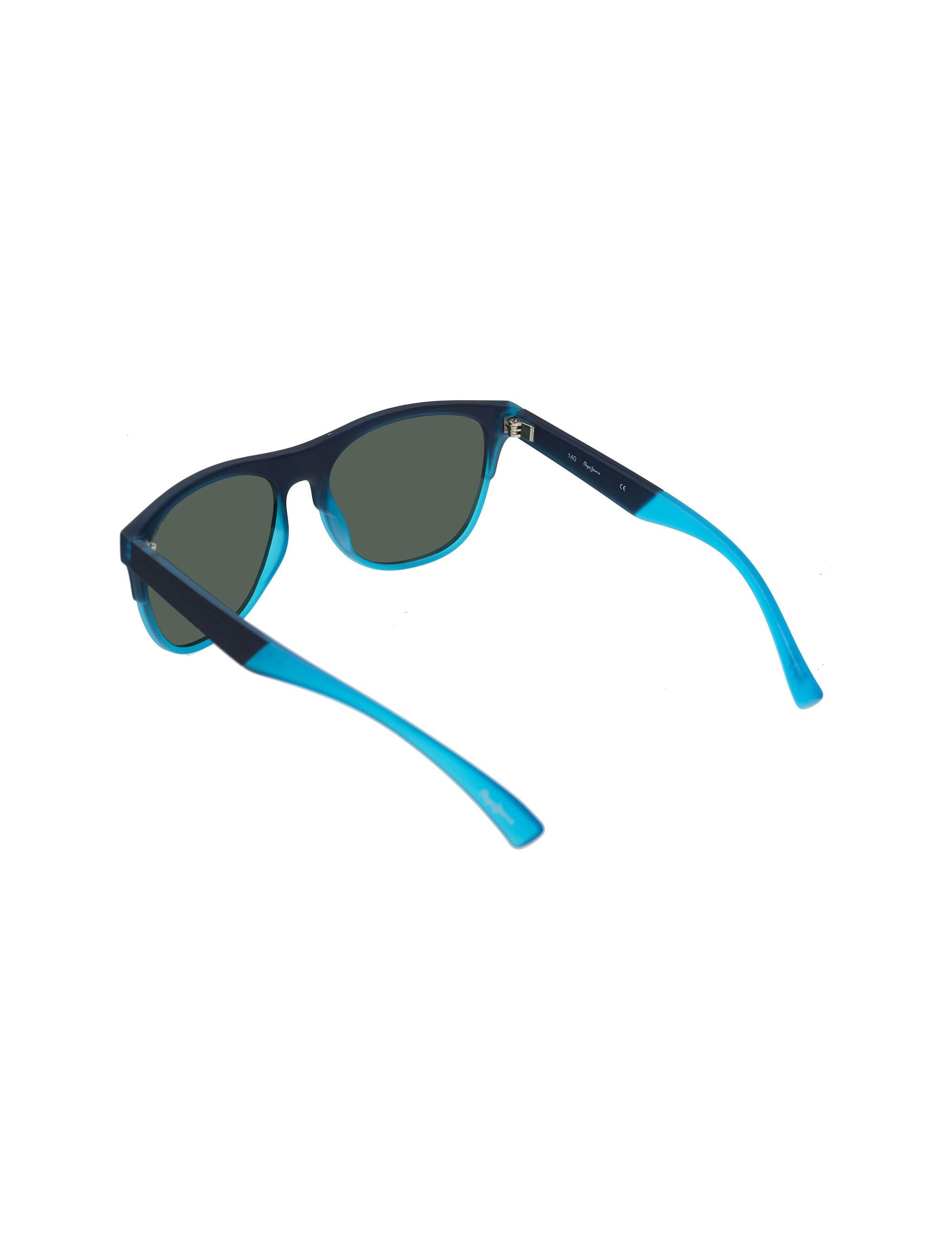 عینک آفتابی خلبانی مردانه - سرمه اي - 4