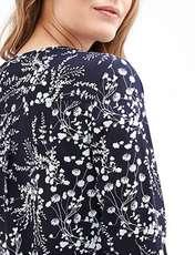 شومیز آستین بلند زنانه - اس.اولیور - سرمه اي - 3