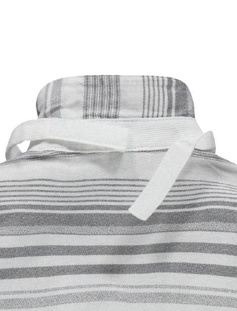 پیراهن نخی آستین بلند پسرانه - طوسي - 3
