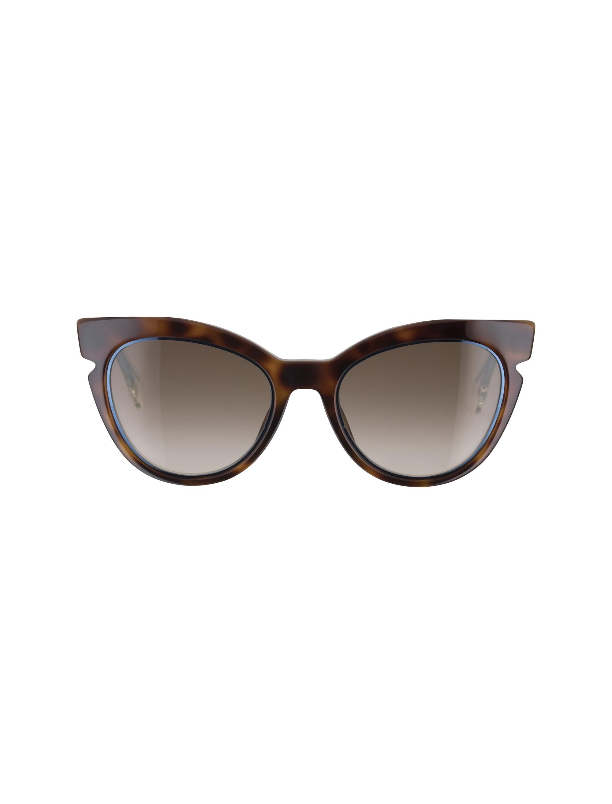 قیمت عینک آفتابی گربه ای زنانه - فندی