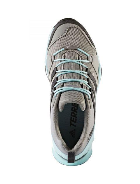 کفش طبیعت گردی بندی زنانه AX2R - طوسي و سبز آبي - 2