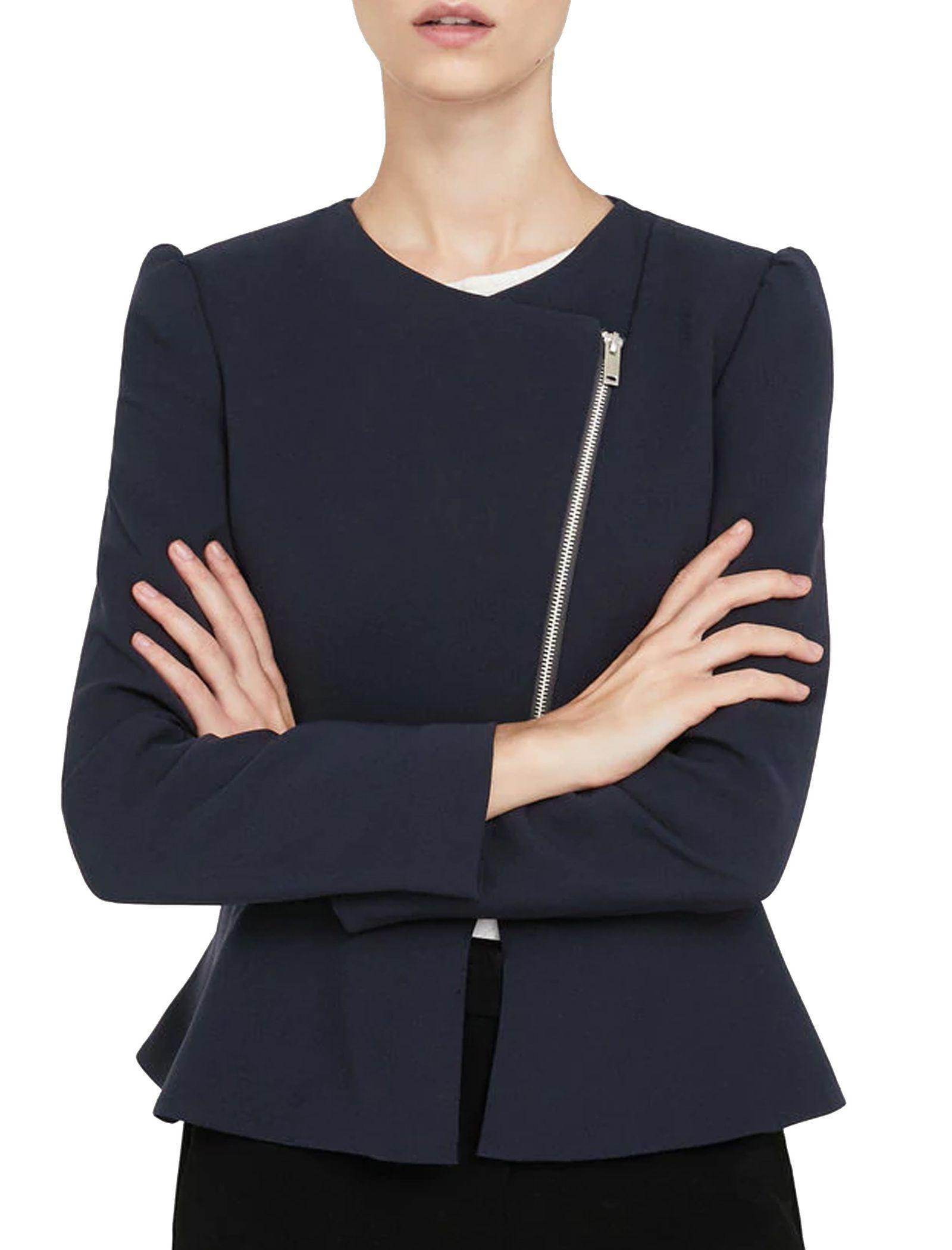 کت کوتاه زنانه - مانگو - سرمه اي - 1