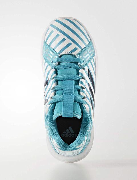 کفش فوتبال بندی پسرانه RapidaTurf Messi - آدیداس - آبي و سفيد - 3