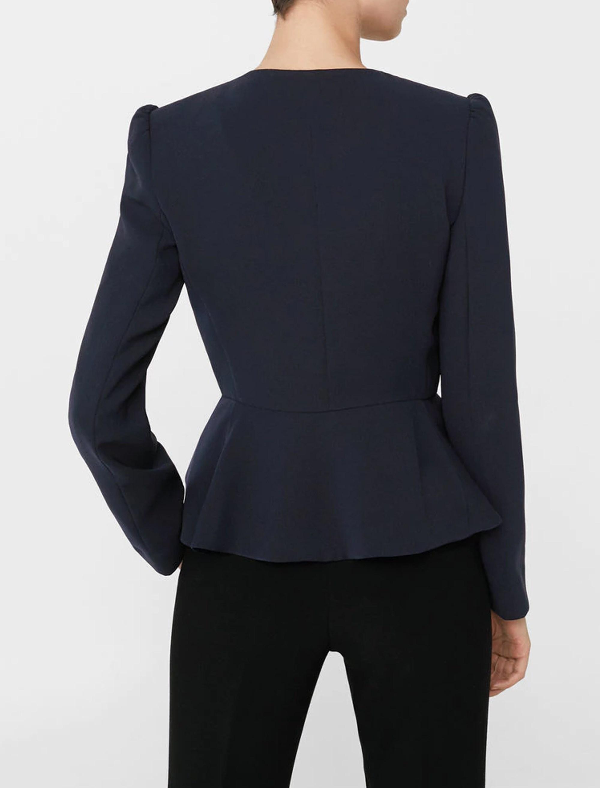کت کوتاه زنانه - مانگو - سرمه اي - 2
