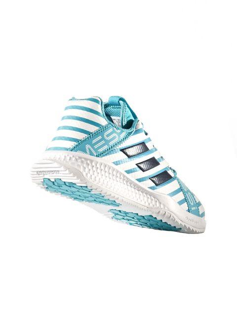 کفش فوتبال بندی پسرانه RapidaTurf Messi - آدیداس - آبي و سفيد - 5