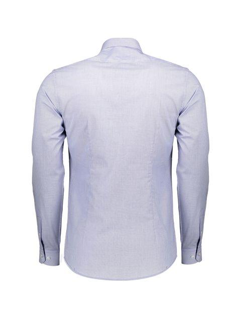 پیراهن رسمی مردانه - آبي روشن - 2