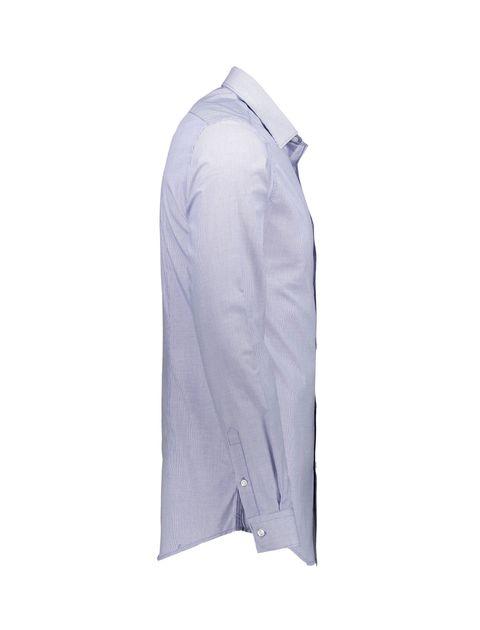 پیراهن رسمی مردانه - آبي روشن - 4