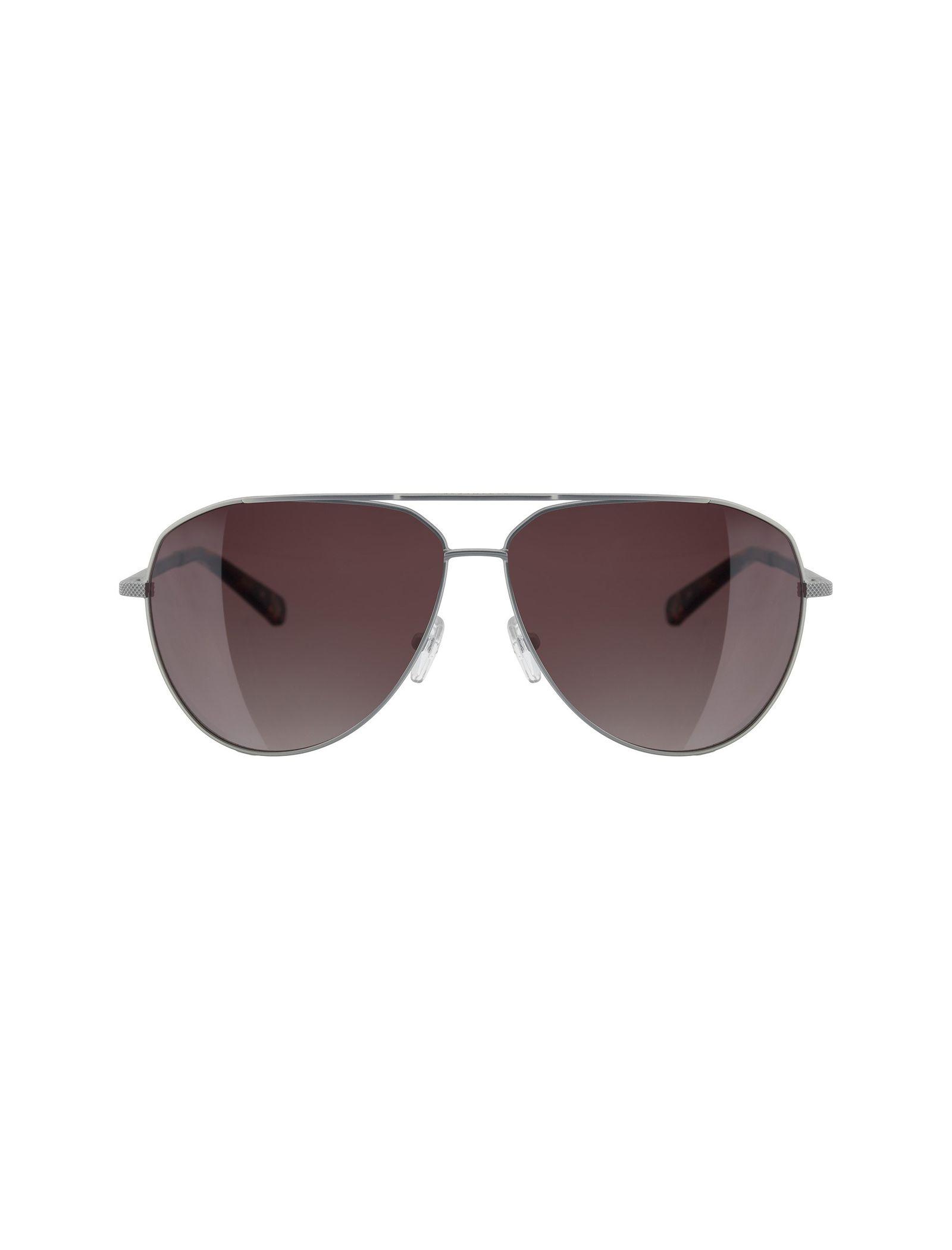 عینک آفتابی خلبانی بزرگسال - تد بیکر - نقره اي - 1