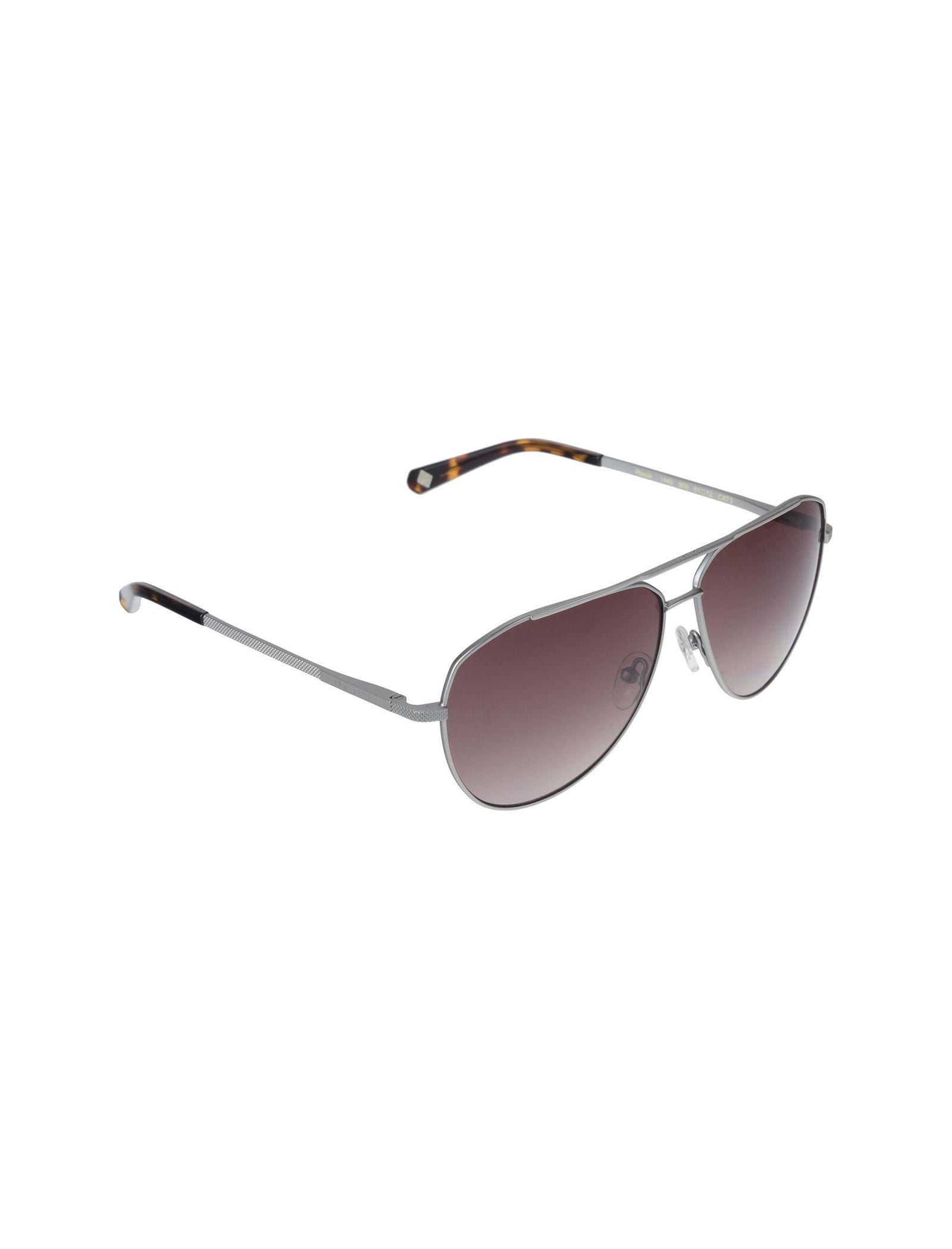 عینک آفتابی خلبانی بزرگسال - تد بیکر - نقره اي - 2
