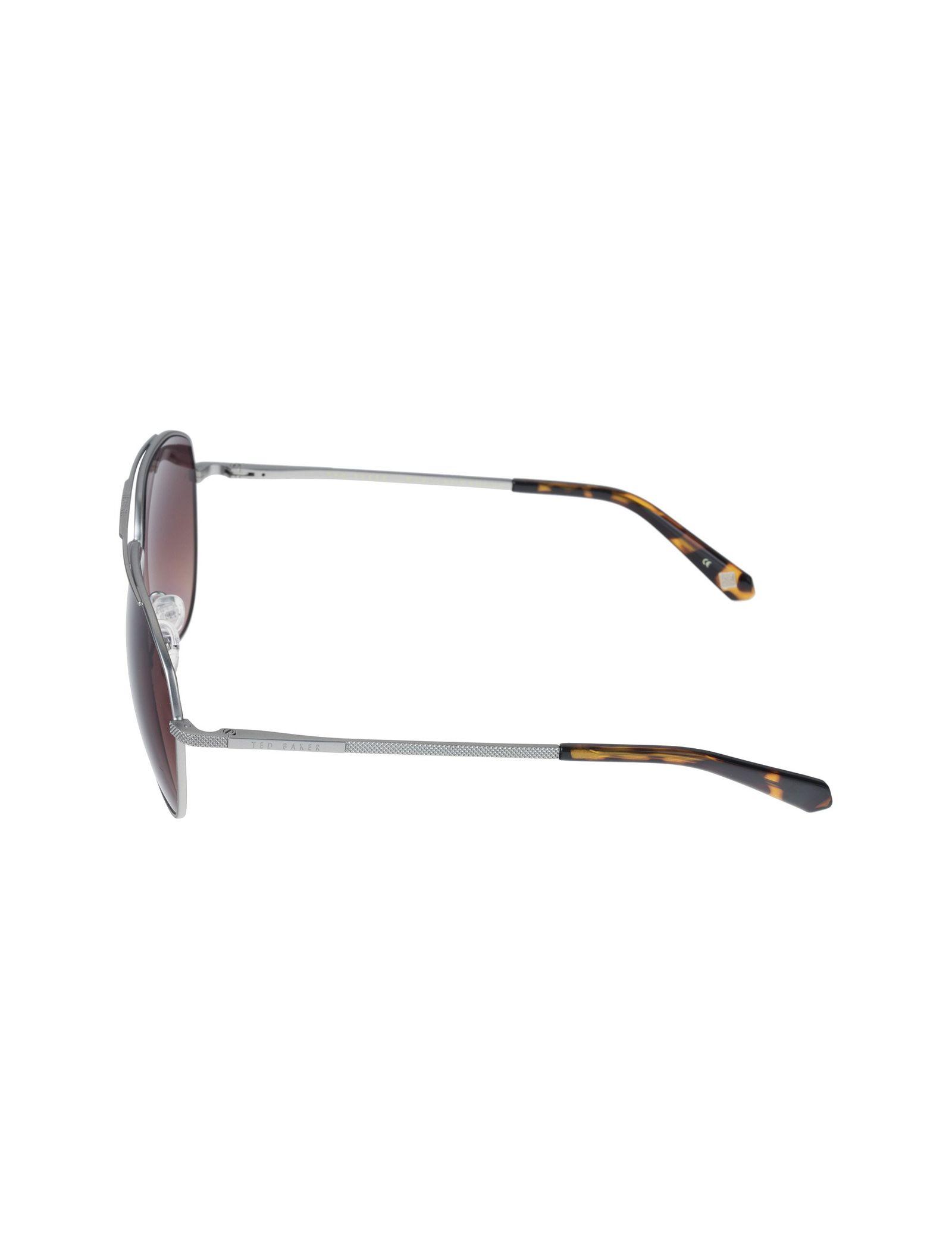 عینک آفتابی خلبانی بزرگسال - تد بیکر - نقره اي - 3