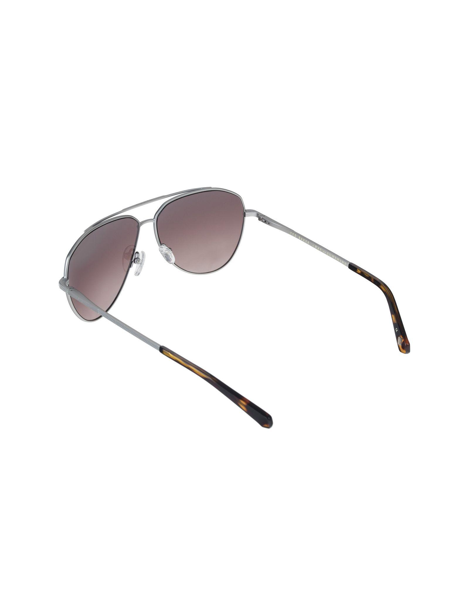 عینک آفتابی خلبانی بزرگسال - تد بیکر - نقره اي - 4