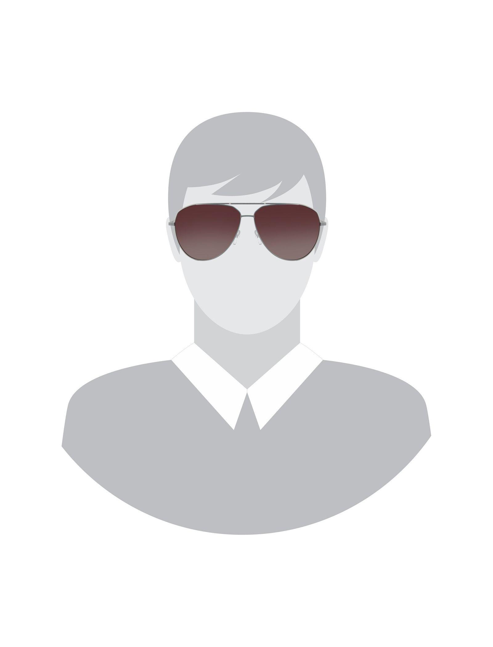 عینک آفتابی خلبانی بزرگسال - تد بیکر - نقره اي - 5