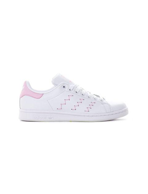 کفش راحتی زنانه آدیداس مدل BZ0401 - سفيد و صورتي - 1