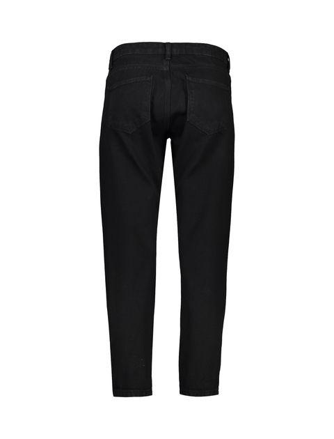 شلوار جین راسته زنانه - مشکي - 2