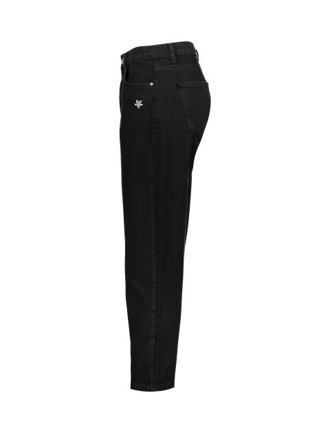 شلوار جین راسته زنانه - مشکي - 3