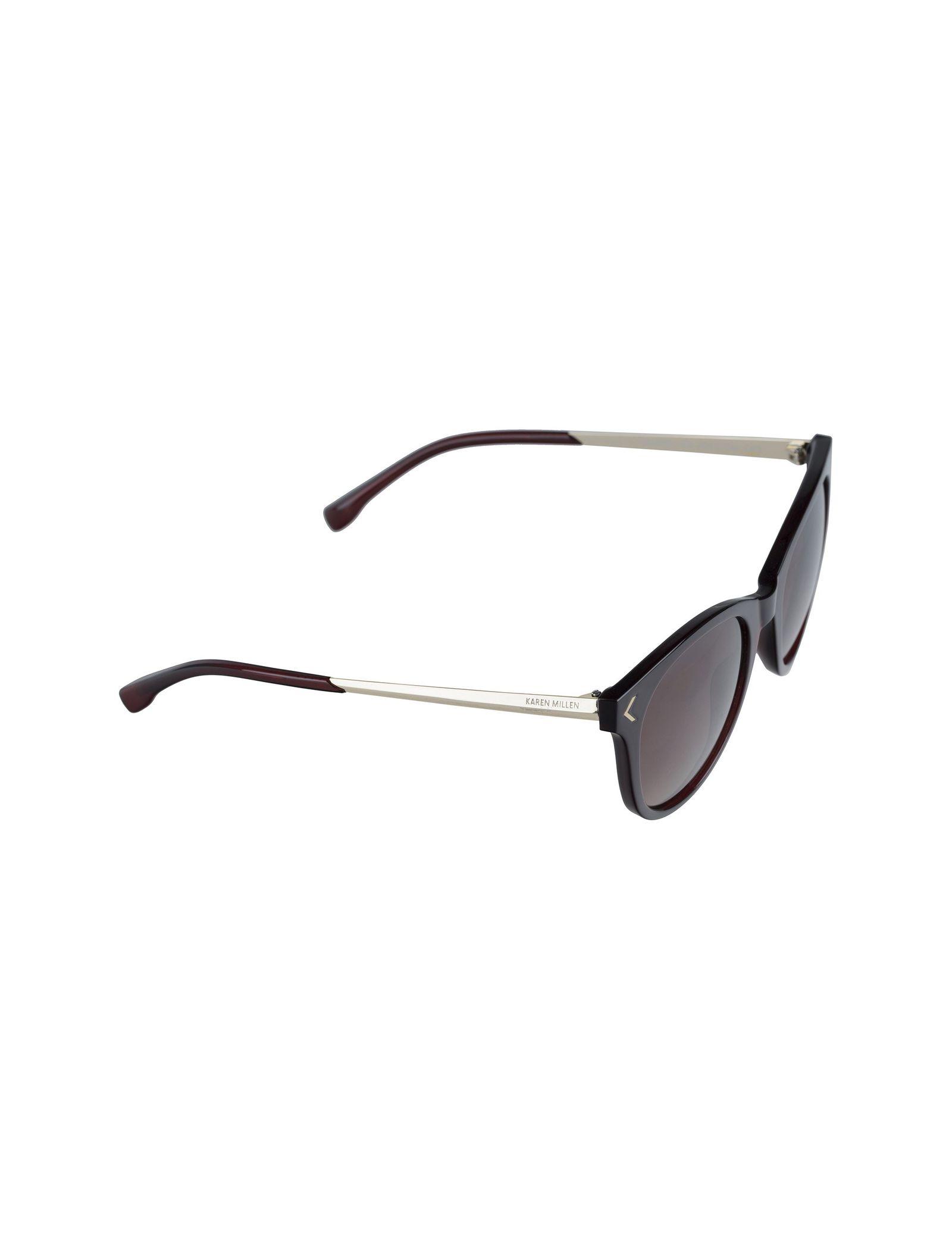 عینک آفتابی ویفرر زنانه - کارن میلن - قهوه اي - 3